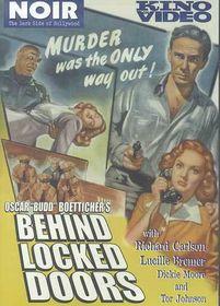 Behind Locked Doors - (Region 1 Import DVD)