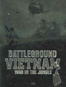 Battleground Vietnam: War In The Jungle - (Region 1 Import DVD)