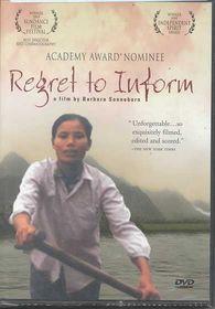 Regret to Inform - (Region 1 Import DVD)