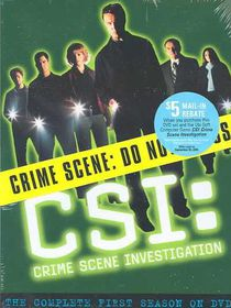 Csi:Complete First Season - (Region 1 Import DVD)