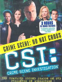 Csi:Complete Second Season - (Region 1 Import DVD)