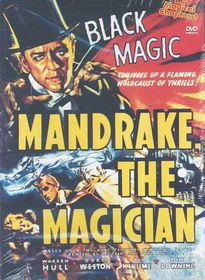 Mandrake the Magician - (Region 1 Import DVD)