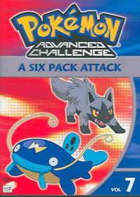 Pokemon Advanced Challenge Vol 7 - (Region 1 Import DVD)