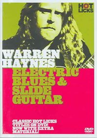 Warren Haynes - Electric Blues And Slide Guitar - (Region 1 Import DVD)