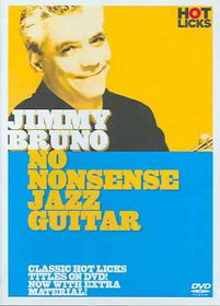 Jimmy Bruno:No Nonsense Jazz Guitar - (Region 1 Import DVD)