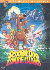 Scooby Doo on Zombie Island - (Region 1 Import DVD)