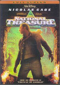 National Treasure - (Region 1 Import DVD)