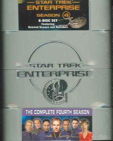 Star Trek:Enterprise Season 4 - (Region 1 Import DVD)