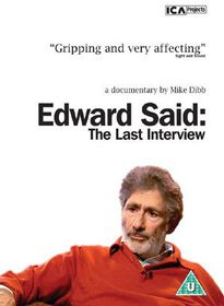 Edward Said: The Last Interview - (Import DVD)