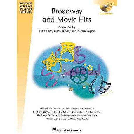 Broadway and Movie Hits Level 3  71531d11c1fed