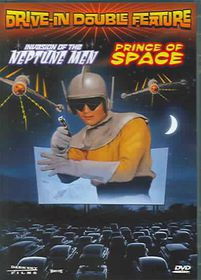 Prince Of Space/Invasion Of The Neptune Men - (Region 1 Import DVD)