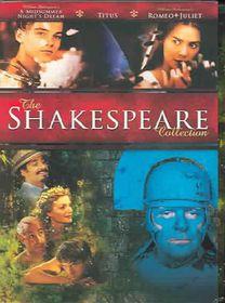 William Shakespeare Compilation Box Set - (Region 1 Import DVD)