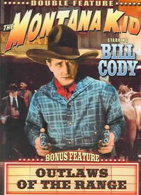 Outlaws Of The Open Range/The Montana Kid - Double Feature - (Region 1 Import DVD)