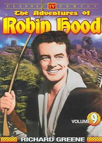 Adventures of Robin Hood Vol 9 - (Region 1 Import DVD)