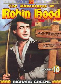 Adventures of Robin Hood Vol 10 - (Region 1 Import DVD)