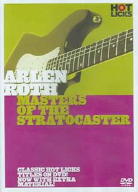 Arlen Roth - Masters of the Stratocaster - (Region 1 Import DVD)