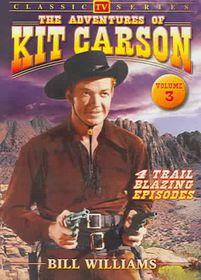 Adventures of Kit Carson Vol 3 - (Region 1 Import DVD)