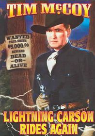 Lightning Carson Rides Again - (Region 1 Import DVD)