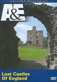 Lost Castles of England - (Region 1 Import DVD)