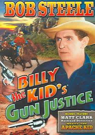 Billy The Kid's Gun Justice/Matt Clark, Railroad Detective Meets The Apache Kid - (Region 1 Import DVD)