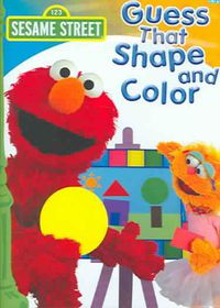 Sesame Street - Guess That Shape and Color - (Region 1 Import DVD)