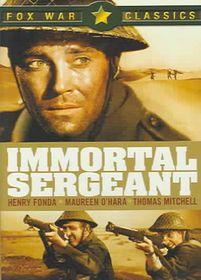 Immortal Sergeant - (Region 1 Import DVD)
