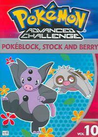 Pokemon Advanced Challenge Vol 10 - (Region 1 Import DVD)