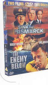 Sink The Bismarck / Enemy Below - (Import DVD)