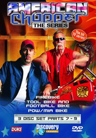 American Chopper Parts 7-9  - (Import DVD)