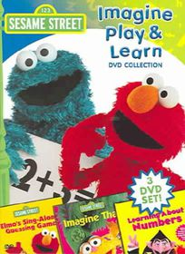 Sesame Street:Imagine Play and Learn - (Region 1 Import DVD)