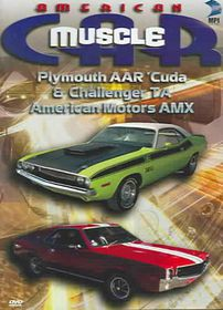 American Muscle Car: Plymouth AAR Cuda & Dodge Challenger - American Motors AMX - (Region 1 Import DVD)