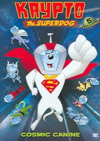 Krypto the Superdog Vol. 1 - Cosmic Canine - (Region 1 Import DVD)