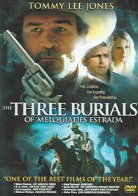 Three Burials of Melquiades Estrada - (Region 1 Import DVD)