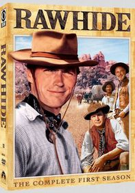 Rawhide: The Complete First Season - (Region 1 Import DVD)