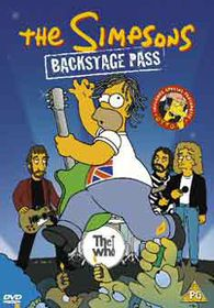 The Simpsons: Backstage Pass  (Import DVD)