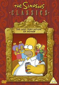 The Simpsons - The Last Temptation Of Homer  (Import DVD)