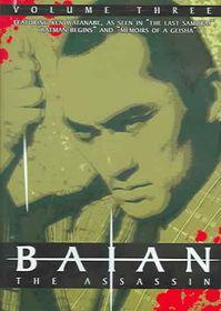 Baian the Assassin Vol 3 - (Region 1 Import DVD)