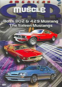 American Muscle Car: Boss 302 & 429 Mustang, The Saleen Mustangs - (Region 1 Import DVD)