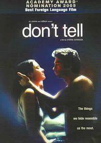 Don't Tell - (Region 1 Import DVD)