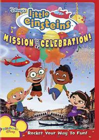 Disney's Little Einsteins: Mission Celebration! - (Region 1 Import DVD)