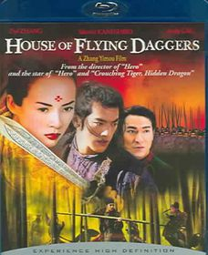 House of Flying Daggers - (Region A Import Blu-ray Disc)