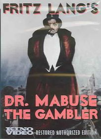 Dr. Mabuse the Gambler - (Region 1 Import DVD)