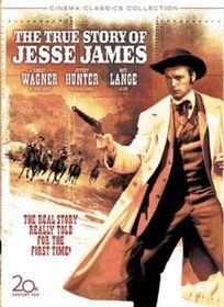 True Story of Jesse James - (Region 1 Import DVD)