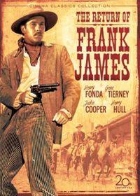 Return of Frank James - (Region 1 Import DVD)