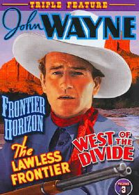 John Wayne Triple Feature Vol 3: Rainbow Valley/The Lawless Frontier/West of the Divide - (Region 1 Import DVD)