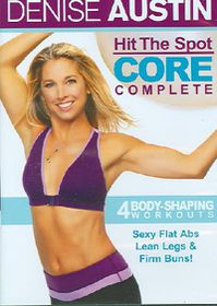 Denise Austin Hit the Spot Core - (Region 1 Import DVD)
