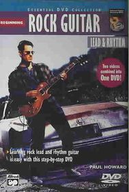 Complete Rock Guitar Method: Beginning Rock Guitar: Lead & Rhythm - (Region 1 Import DVD)