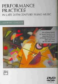 Performance Practices in Late 20th Century Piano Music DVD (Alfred Masterwork Edition) - (Region 1 Import DVD)