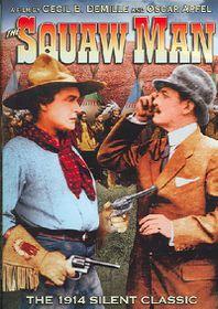 Squaw Man - (Region 1 Import DVD)