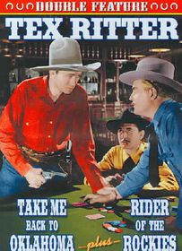Tex Ritter Double Feature: Take Me Back to Oklahoma/Ride of the Rockies - (Region 1 Import DVD)